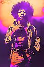 Purple Haze Jimi by Tasty Clothing