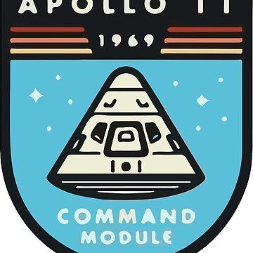 Apollo 11 Space Design by TaylorBrew