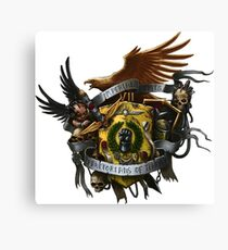 Imperial Fists Heraldry Canvas Print