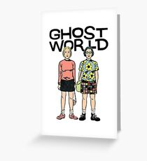 Ghost World Greeting Card