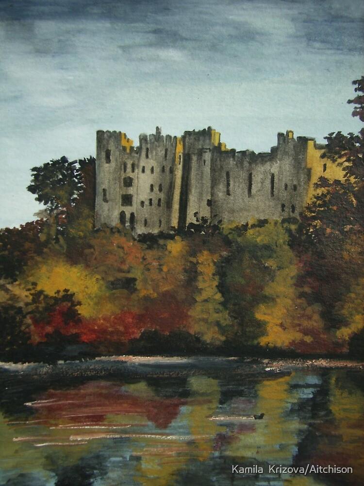 Ludlow castle in England by Kamila  Krizova/Aitchison