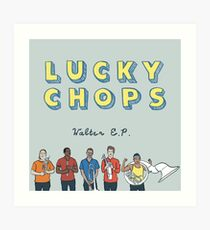 Lucky Chops NYC Walter EP Album Cover Art Print