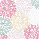 Decorative Petals in Pastel Colors by Lena127