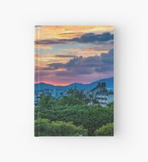 After storm sunset Hardcover Journal