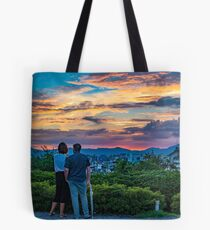 After storm sunset Tote Bag