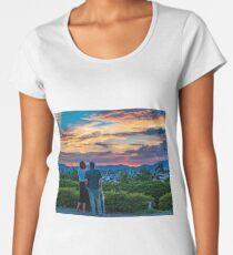 After storm sunset Premium Scoop T-Shirt