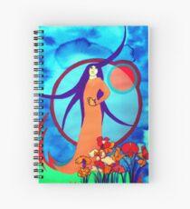 Spirt Lady Spiral Notebook