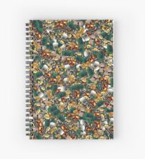 Same-o-flage™ fabric sample Spiral Notebook