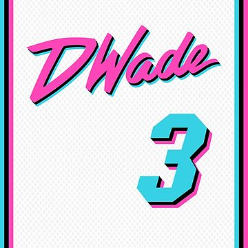 Vice Wade Jersey Script 1 by SaturdayAC