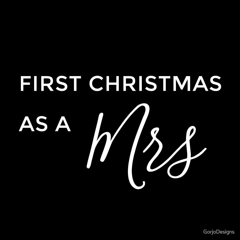 First Christmas as a Mrs Script Font