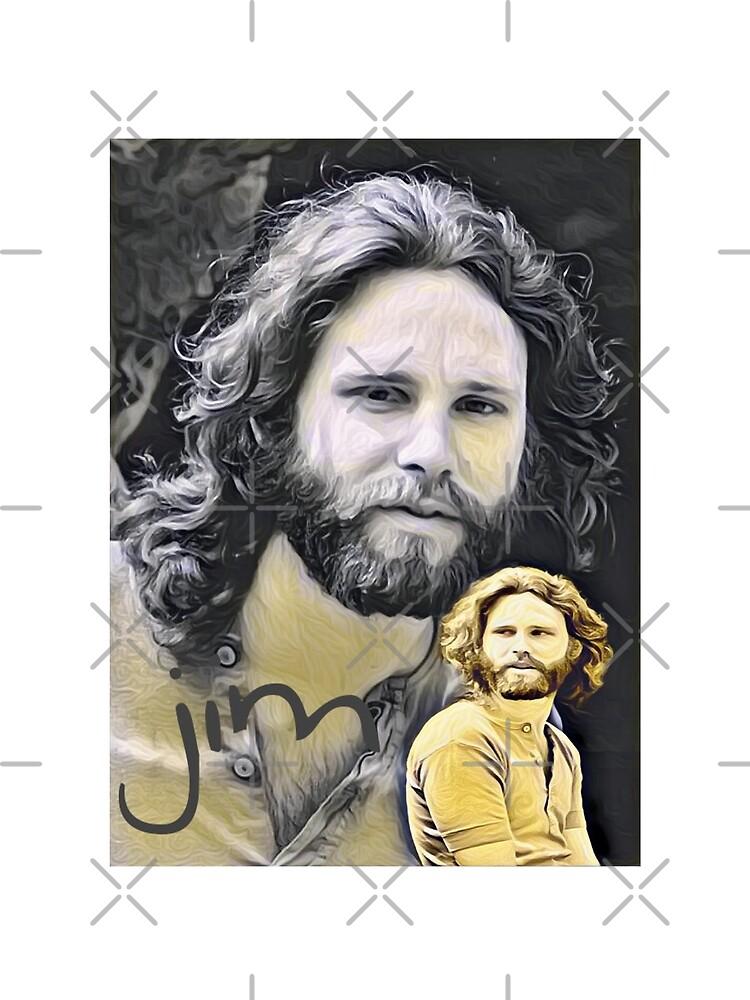 Jim Morrison forever by LaurenceS06