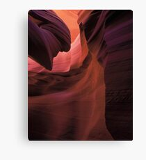 The Crack Canvas Print