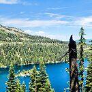 Inspiration Point Emerald Bay Panorama by Joe Lach
