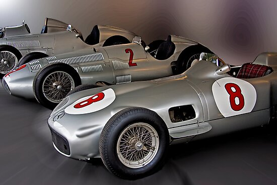 Silver Arrows by Uwe Rothuysen