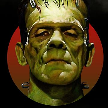 Frankenstein - Classic Monsters by Black---Rainbow