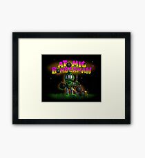 Atomic Bomberman Framed Print