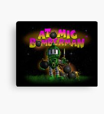 Atomic Bomberman Canvas Print
