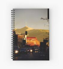 Street Scene Christchurch Spiral Notebook