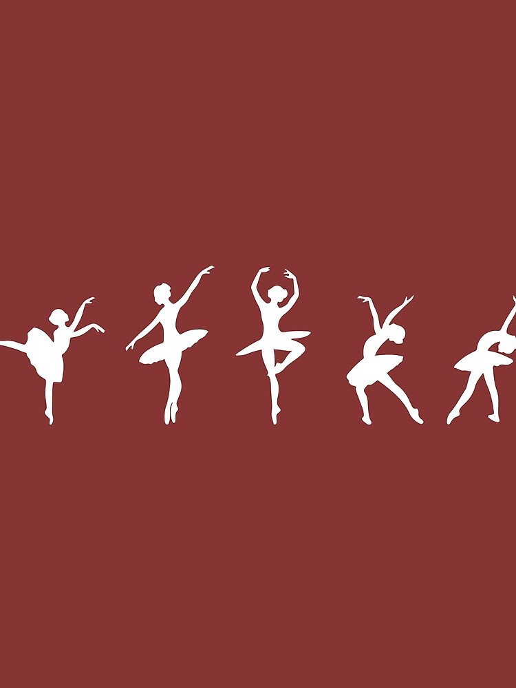 Ballet Evolution, Ballerina Dancer, Moves Artwork, Tshirts, Posters, Prints, Women, Men, Kids by clothorama