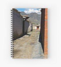 Back Streets Spiral Notebook