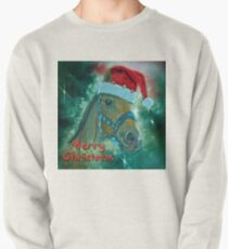 Horse Christmas card Pullover