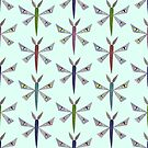 Eye Spy Moth Pattern by Evvie Marin