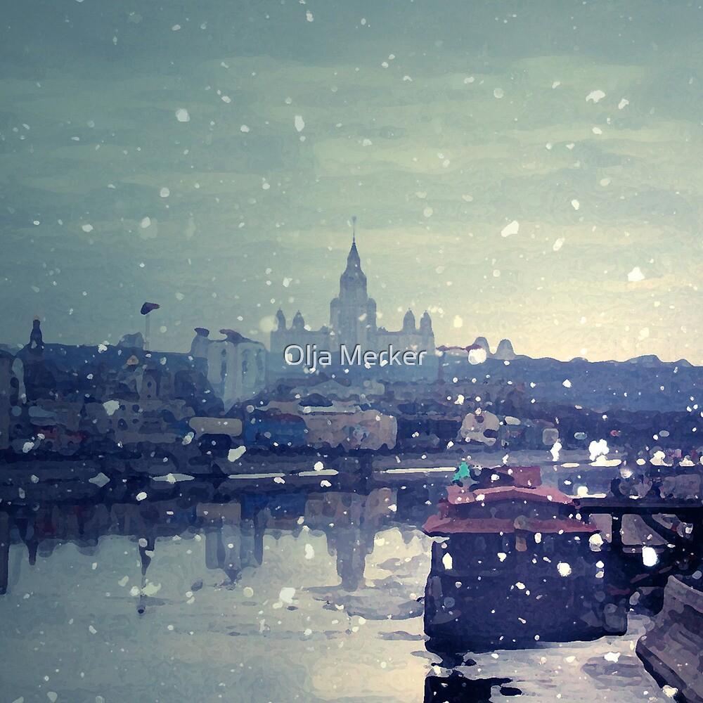 Happy winter to you! by Olja Merker