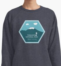 Tongariro National Park New Zealand Lightweight Sweatshirt