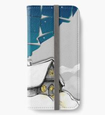 Winter Cottage (No Frame) iPhone Wallet/Case/Skin