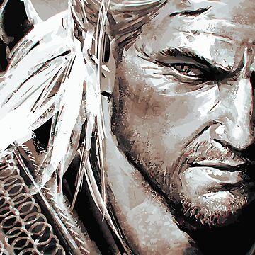 El brujo - Geralt de Bigcoin