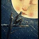 The Moon and the crow von Regenassart
