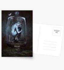 Le Cabinet de Curiosités - Meerjungfrau Postkarten