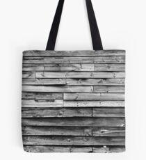 Aged shiplap Tote Bag