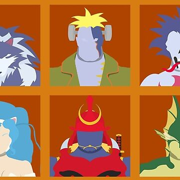 Select Your Character: Darkstalkers by flashkill455