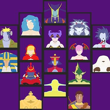 Select Your Character: Darkstalkers 3 by flashkill455