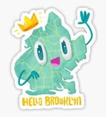Hello Brooklyn Sticker
