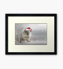 Here's a little Christmas gift for you xxx Framed Print