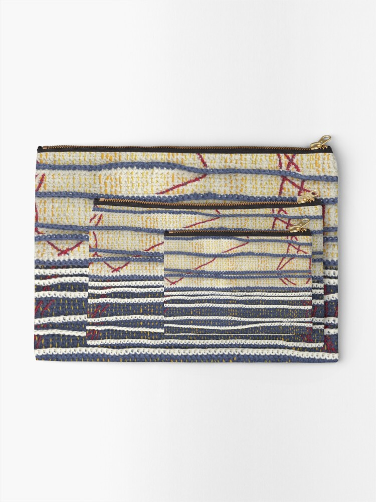 Alternate view of Yarns: Family ties Zipper Pouch