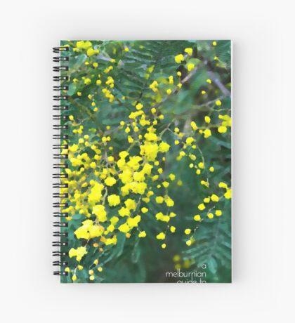 Wattle Fever Spiral Notebook