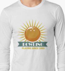 Bowling Playing Since 1993 Long Sleeve T-Shirt