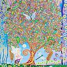 Dreamy Tree of Life by MarkBetsonArt