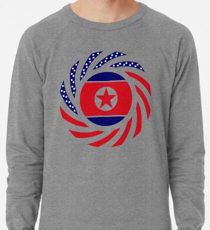 North Korean American Multinational Patriot Flag Series Lightweight Sweatshirt