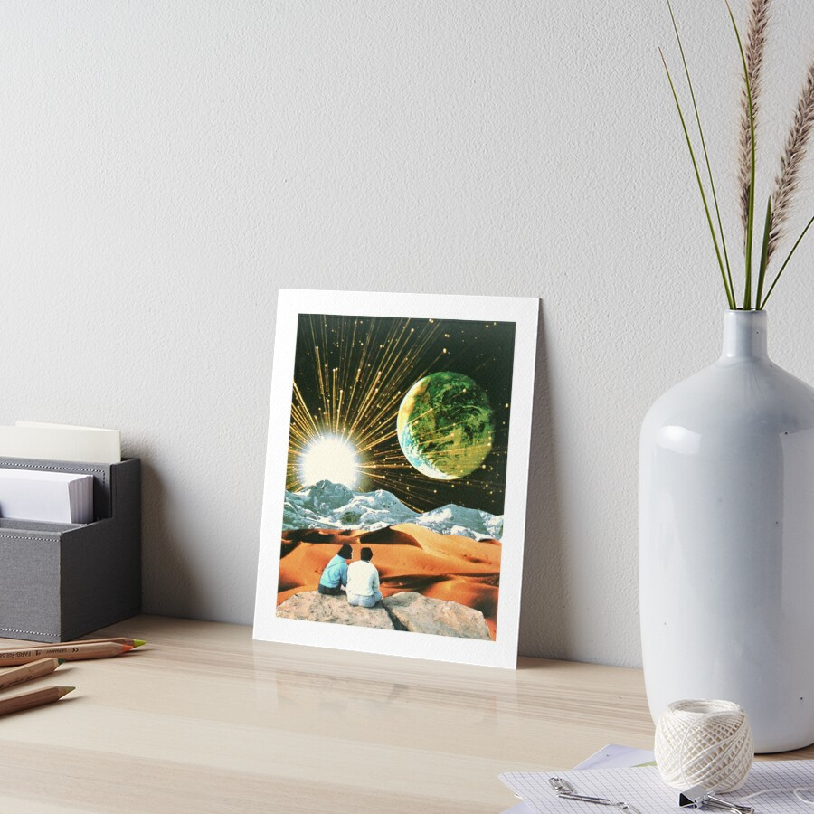 Another Earth Art Board Print