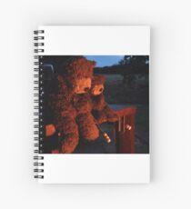Deano Bears Toasting Marsh Mallows Spiral Notebook