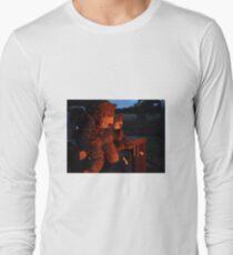Deano Bears Toasting Marsh Mallows Long Sleeve T-Shirt