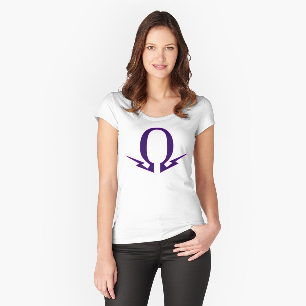 ohm Women's Fitted Scoop T-Shirt Front
