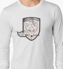 God Hound (Okami) Long Sleeve T-Shirt