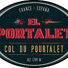 Col du Pourtalet T-Shirt + Sticker - Route des Cols Pyrenees by ROADTROOPER