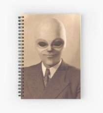 The Real Mr Woolworth Spiral Notebook