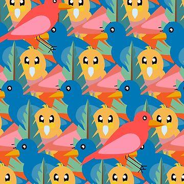 Birdies by RoxanneG